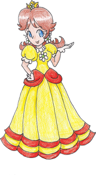 Collab- Princess Daisy by LilacPhoenix