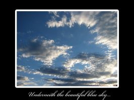 The Beautiful Blue Sky by trinityrenee