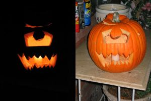 2005 WoW Pumpkin by ShadowWalkerInc