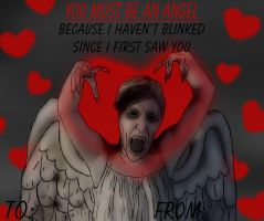 Doctor Who Valentine's Card : You Must Be An Angel by SydneyNicole