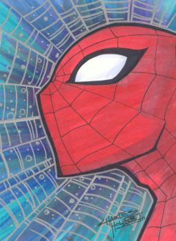 marker : Spider-man by KidNotorious