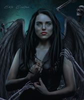 katie McGrath as Succubi by ektapinki