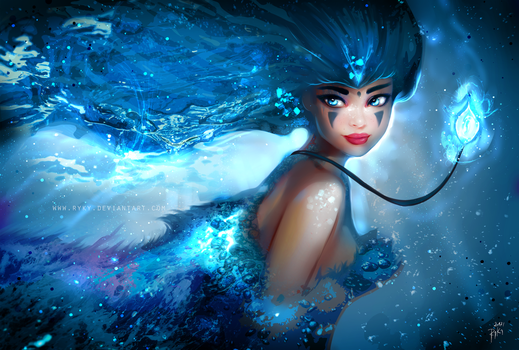 Water Warrior by ryky