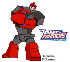 Animated G1 Ironhide by Scream01