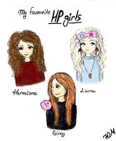 My favourite HP girls by vivalagloria97