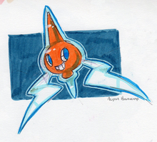 #479 Rotom by little-ampharos
