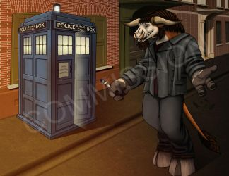 Doctor Who :Commission: by NaokoHara