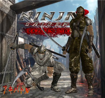 NG3RE Black Spider Ninjas by SSPD077 by SSPD077