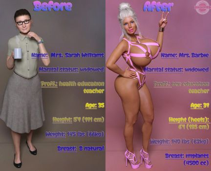 Complete transformation of Sarah (updated) by SaidNuffman