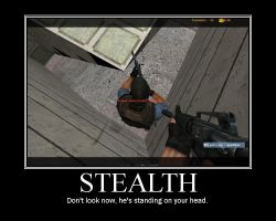 Stealth CS Motivational Poster by Stollrofl