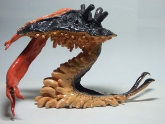 Alien parasite creature thingy by LDN-RDNT