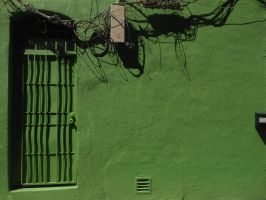 The Green Door by discoinferno84