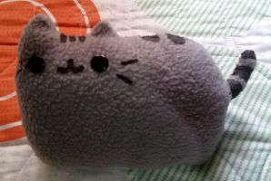 Pusheen mini-pillow by Ivy-Mauve