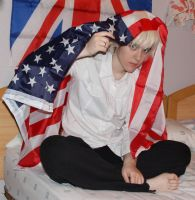 UK with USA flag by BLooDy-TeaRs-PanThEr