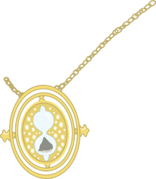Time Turner vector by credechica4