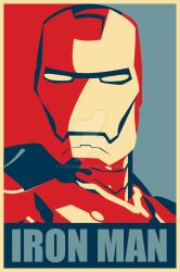 Iron Man Hope Poster Mark 1 by djbowen