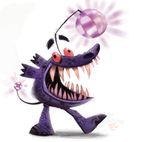 Day 709.  #THEBOOGEYMAN by Cryptid-Creations
