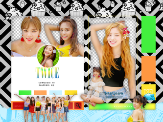 TWICE | DANCE THE NIGHT AWAY | PACK PNG by KoreanGallery