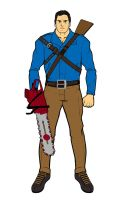 Ash Williams by Chiracy