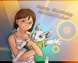 Happy Birthday Meli! by Fierying