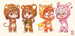 Mystic Messenger: Pajama Party by Soverrein