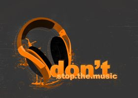 Don't Stop The Music by GKgfx