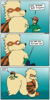 Arcanine Fluff by timsplosion
