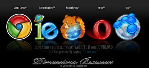 Dimensions Prev 1: Browsers by royalflushxx