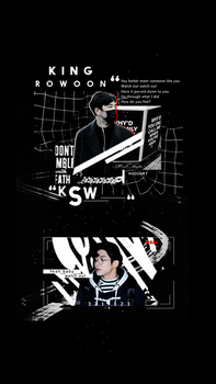 King Rowoon phone wallpaper by madgarts