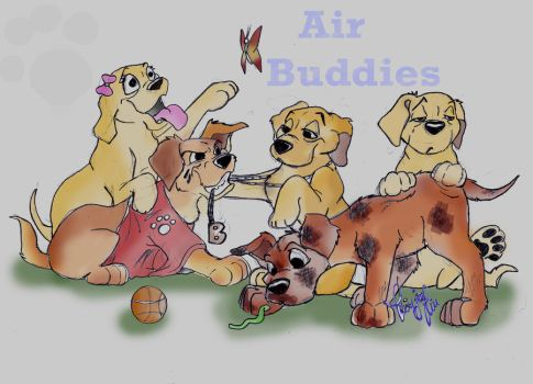 Air Buddies by GoldieRetriever