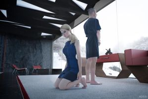 Detroit: Become Human cosplay (frame2) by Lyumos