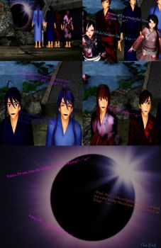 MMD Comics - The Annular Eclipse (26/02/2017) by Sheila-Sama-15