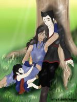 :Makorra Week Day 7: Ever After by liutiya