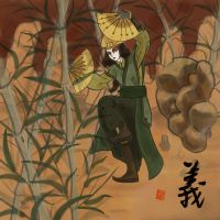 Kyoshi alone by AnkeLive