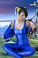 Weather is too hot for Chun-Li by cosplayerotica