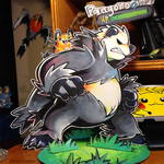 A wild Pangoro appeared! by super-tuler