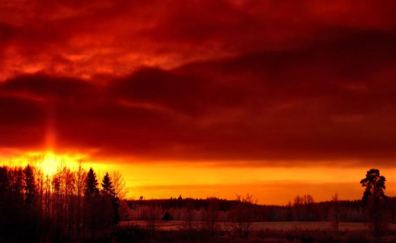Heaven on fire by KariLiimatainen