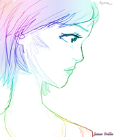 Anime: Profile View by theanimeaxis