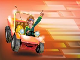 Speed Buggy by Hognatius