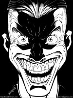 Joker - Inks by kh27s