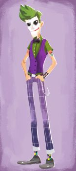 Hipster Joker by Andry-Shango