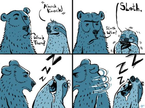Sloth and Bear Episode 1 by Nutthead