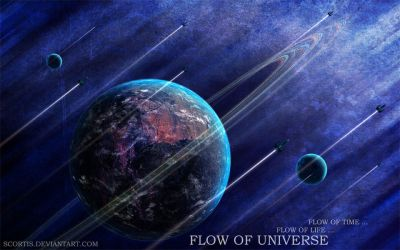 Flow of Universe by Scortis