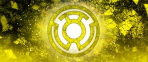 Yellow lantern corps by Groltard