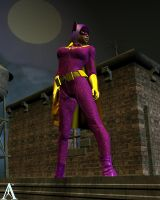 Batgirl on the rooftop by MndlessEntertainment
