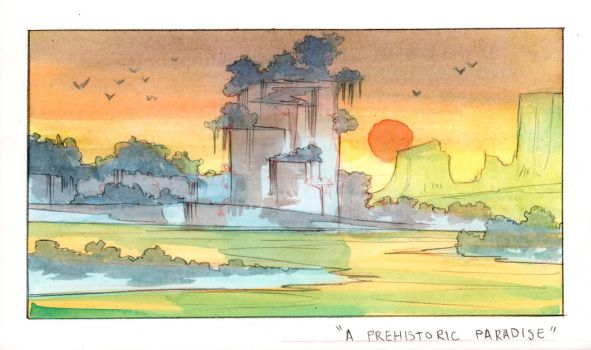 Daily Watercolor 43 by Tomsleeps