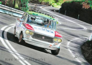 1962 Fiat 1500 - Classic Adelaide Rally 2015 by aalexwerner