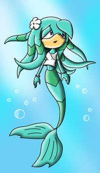Lilly the Mer-Echidna by Arkus0
