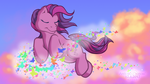 Dancing in the Clouds by AnScathMarcach