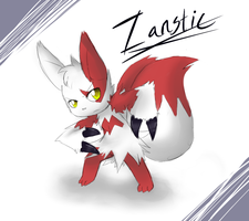 Meowoose..Zanstic..Whichever Sounds Best! by gretellu